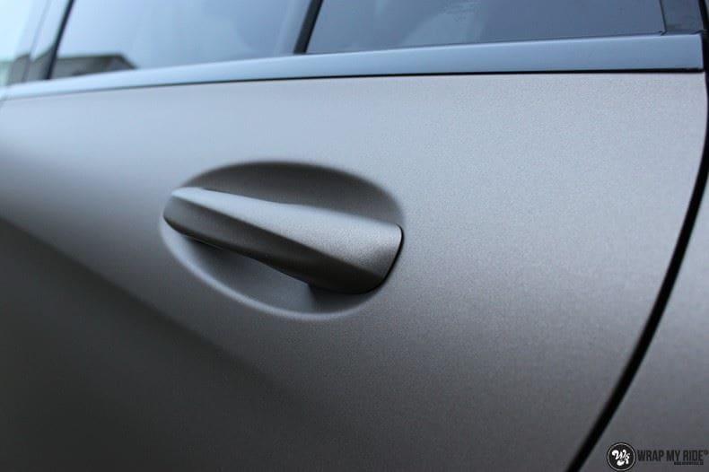 Mercedes GLC matte metallic brown, Carwrapping door Wrapmyride.nu Foto-nr:9541, ©2018