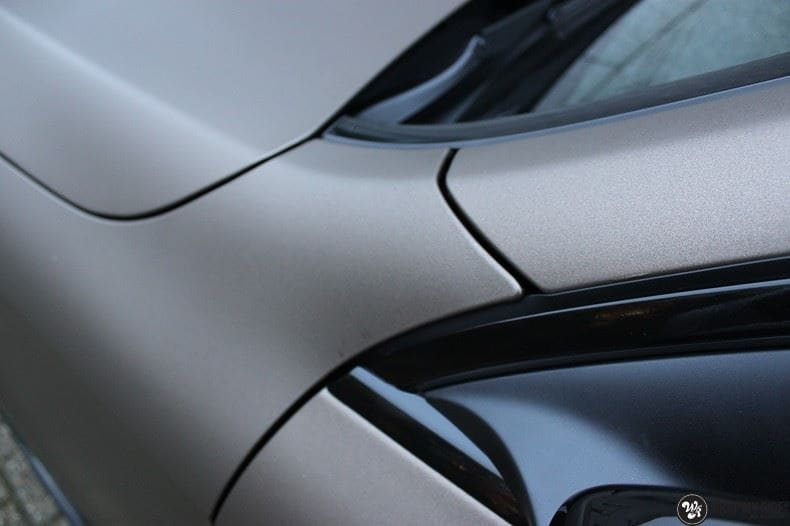 Mercedes GLC matte metallic brown, Carwrapping door Wrapmyride.nu Foto-nr:9537, ©2018