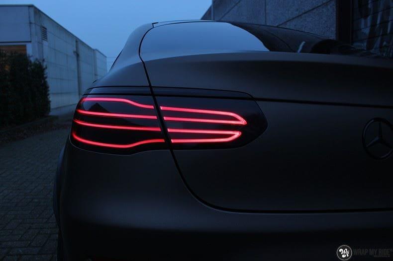 Mercedes GLC matte metallic brown, Carwrapping door Wrapmyride.nu Foto-nr:9535, ©2018