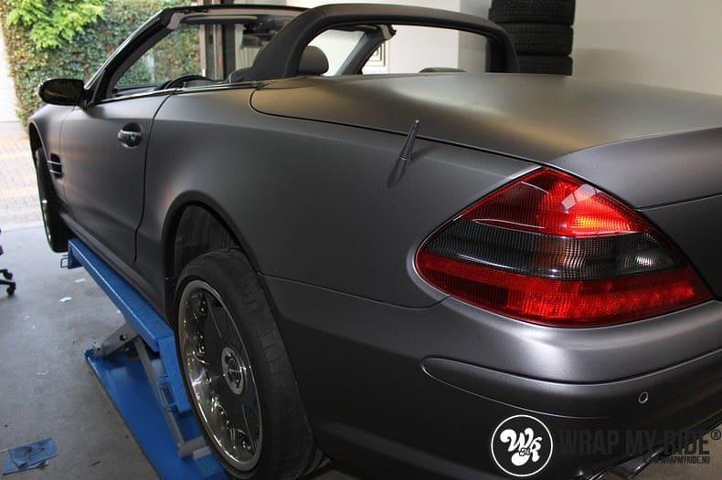 Mercedes SL 55AMG, Carwrapping door Wrapmyride.nu Foto-nr:7946, ©2017
