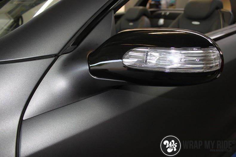 Mercedes SL 55AMG, Carwrapping door Wrapmyride.nu Foto-nr:7952, ©2017