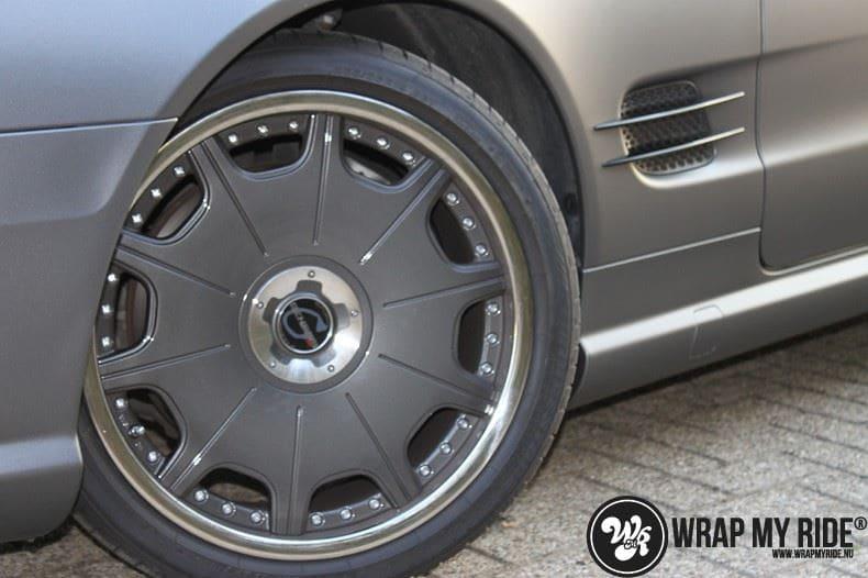 Mercedes SL 55AMG, Carwrapping door Wrapmyride.nu Foto-nr:7962, ©2017