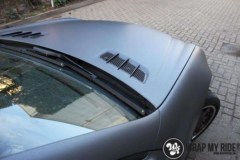 Mercedes SL 55AMG, Carwrapping door Wrapmyride.nu Foto-nr:7967, ©2017