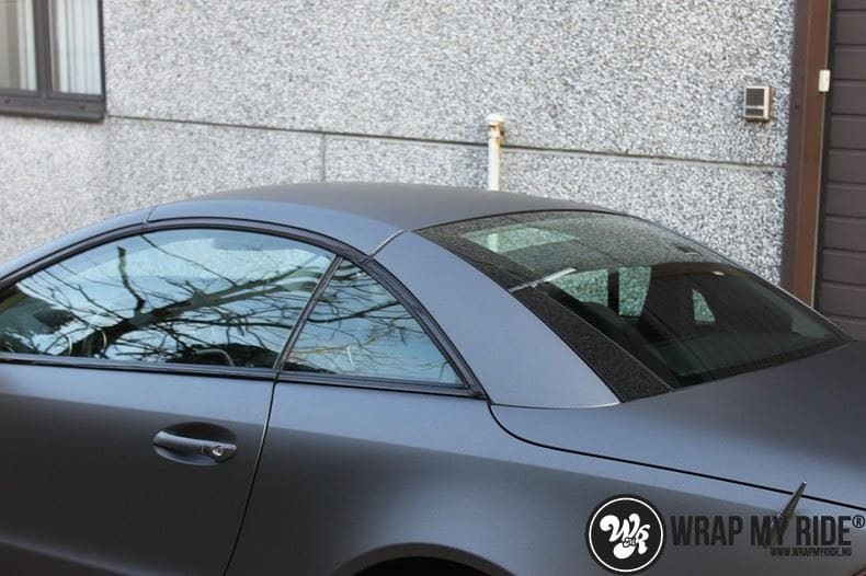 Mercedes SL 55AMG, Carwrapping door Wrapmyride.nu Foto-nr:7976, ©2017