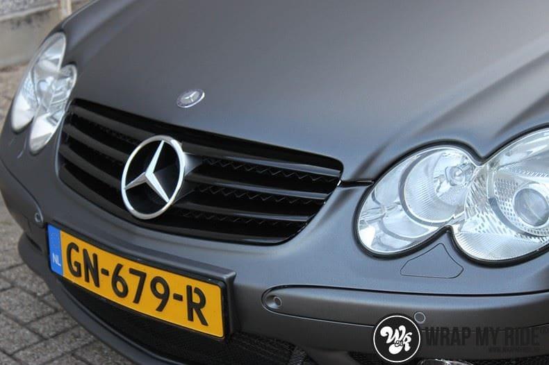 Mercedes SL 55AMG, Carwrapping door Wrapmyride.nu Foto-nr:7980, ©2017
