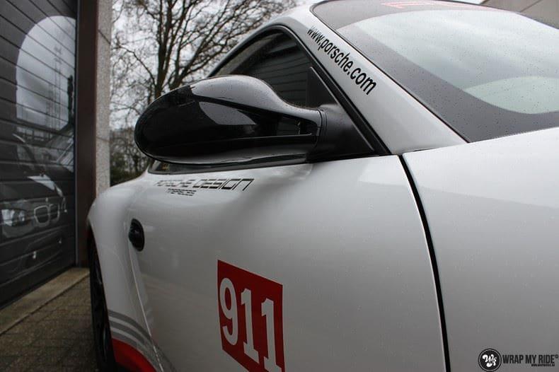 Porsche 911 RSR look, Carwrapping door Wrapmyride.nu Foto-nr:9789, ©2017