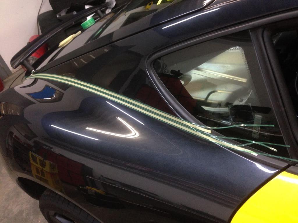 Porsche Cayman Yellow, Carwrapping door Wrapmyride.nu Foto-nr:8842, ©2017