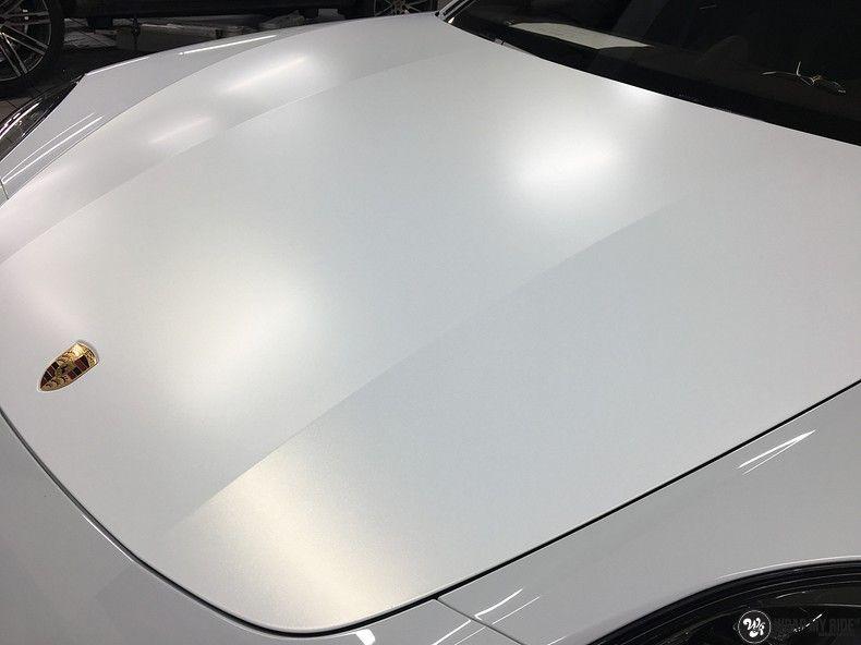 Porsche Panamera 4S Satin Frozen Vanilla, Carwrapping door Wrapmyride.nu Foto-nr:10554, ©2018