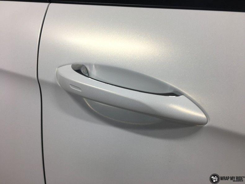 Porsche Panamera 4S Satin Frozen Vanilla, Carwrapping door Wrapmyride.nu Foto-nr:10526, ©2018