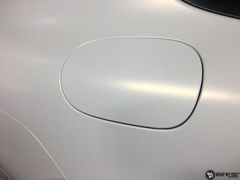 Porsche Panamera 4S Satin Frozen Vanilla, Carwrapping door Wrapmyride.nu Foto-nr:10523, ©2018