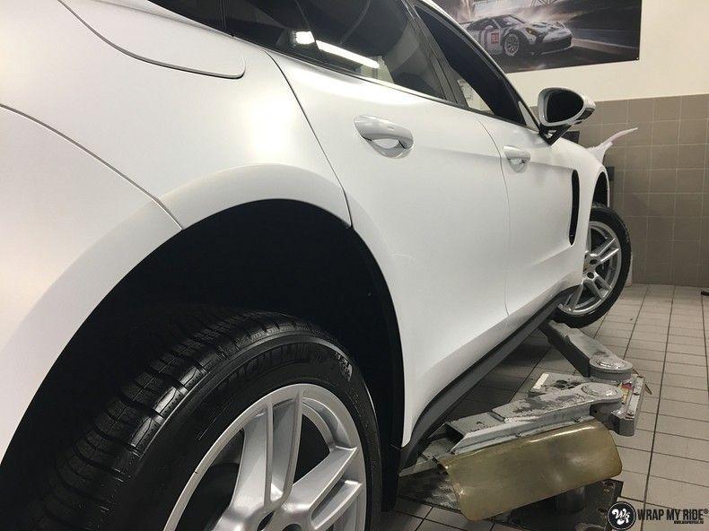 Porsche Panamera 4S Satin Frozen Vanilla, Carwrapping door Wrapmyride.nu Foto-nr:10521, ©2018