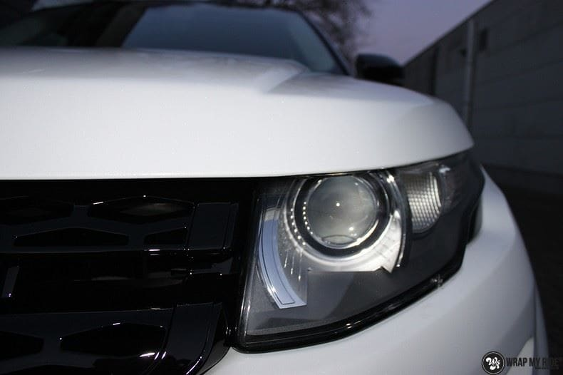 Range Rover Evoque Avery White Diamond, Carwrapping door Wrapmyride.nu Foto-nr:9821, ©2017