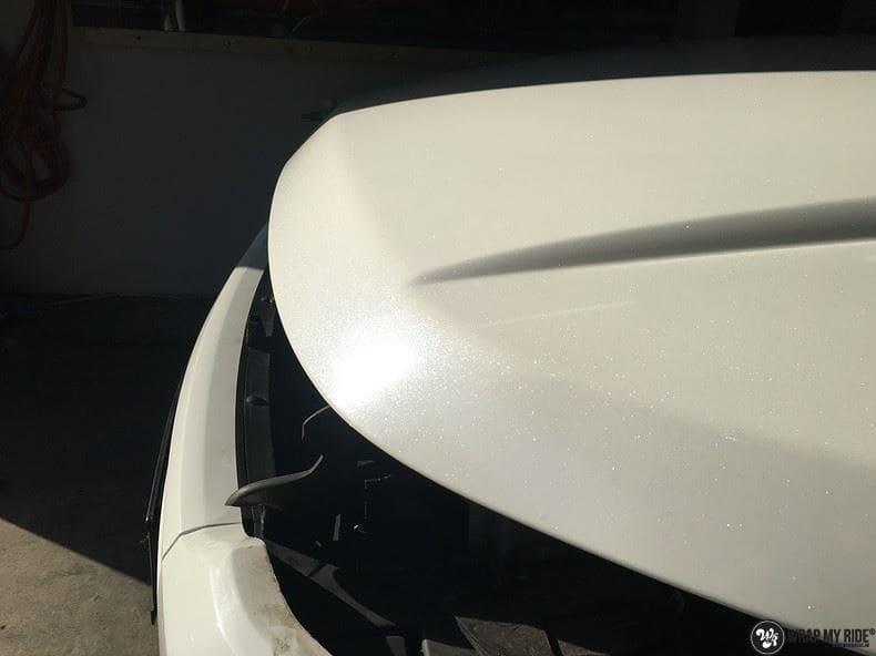 Range Rover Evoque Avery White Diamond, Carwrapping door Wrapmyride.nu Foto-nr:9831, ©2017