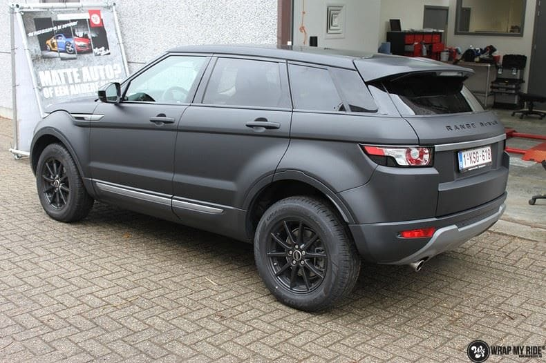 Range Rover Evoque Wrap My Ride