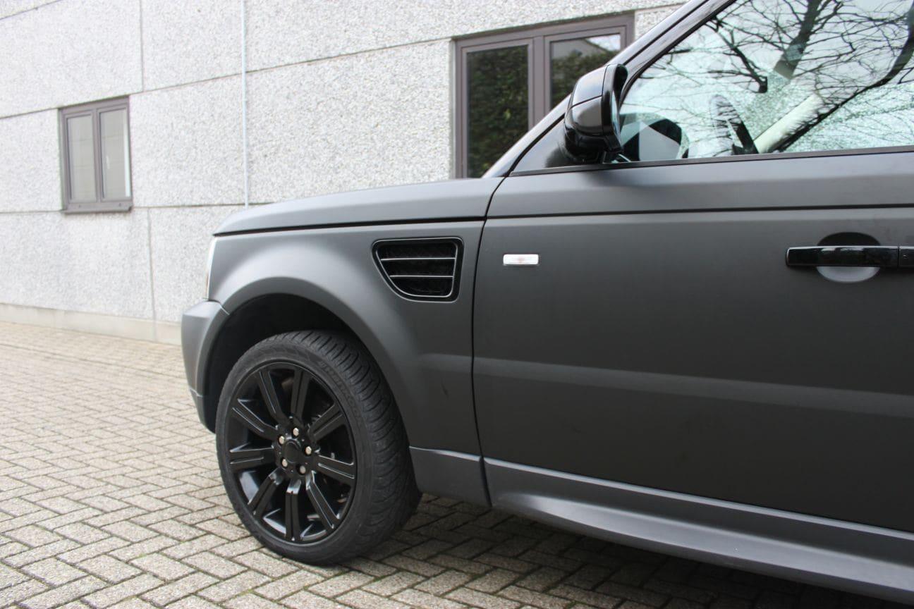 Goed bekend Range Rover Sport HSE met Mat Zwarte Wrap | Wrap My Ride RE27