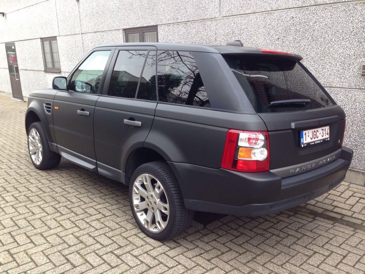 Beroemd Range Rover Sport met Mat Zwarte Wrap | Wrap My Ride UQ32