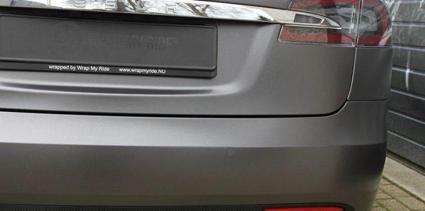 Tesla Model S Satin Dark Grey