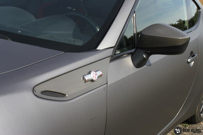 Toyota GT86, Carwrapping door Wrapmyride.nu Foto-nr:10207, ©2017