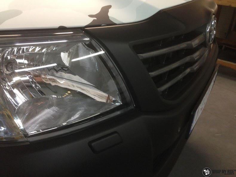 Toyota Hillux camo print, Carwrapping door Wrapmyride.nu Foto-nr:8496, ©2017