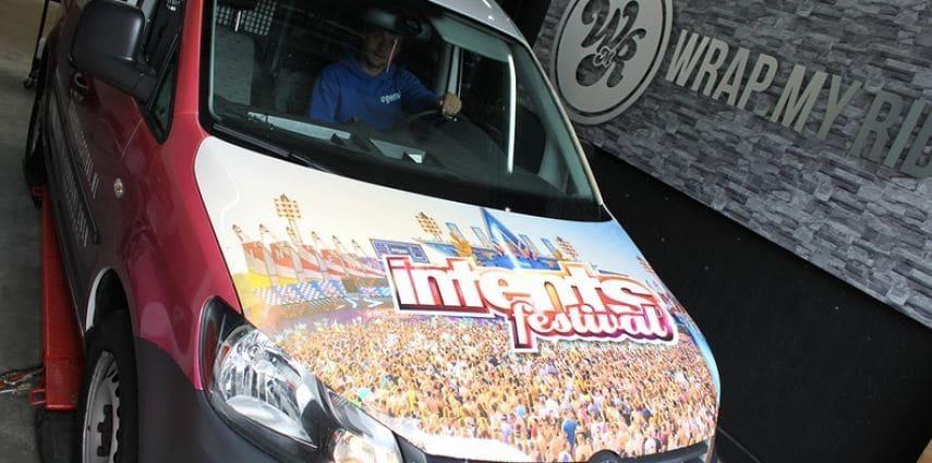 VW Caddy Intents Festival