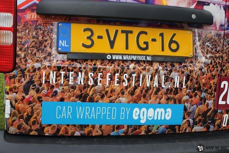 VW Caddy Intents Festival, Carwrapping door Wrapmyride.nu Foto-nr:9860, ©2018