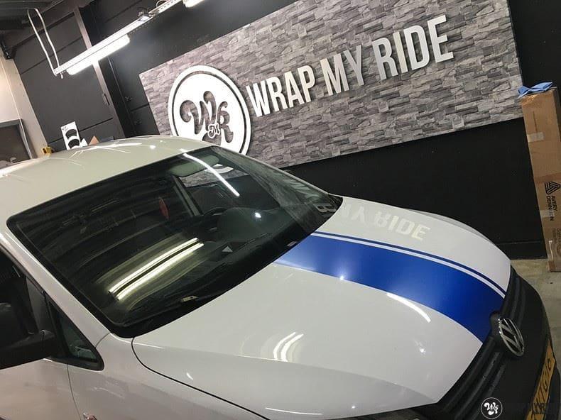 VW Caddy Intents Festival, Carwrapping door Wrapmyride.nu Foto-nr:9871, ©2018
