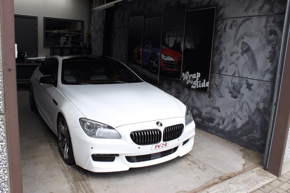 Weer een project afgerond met deze BMW 640D M