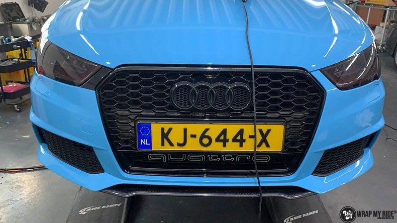 audi A1 custom livery, Carwrapping door Wrapmyride.nu Foto-nr:12990, ©2020