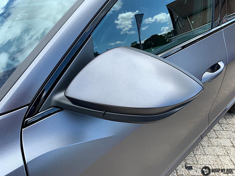 Audi E-tron satin dark grey, Carwrapping door Wrapmyride.nu Foto-nr:13582, ©2021