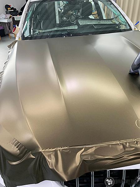 Ferrari California satin dark grey, Carwrapping door Wrapmyride.nu Foto-nr:13853, ©2020