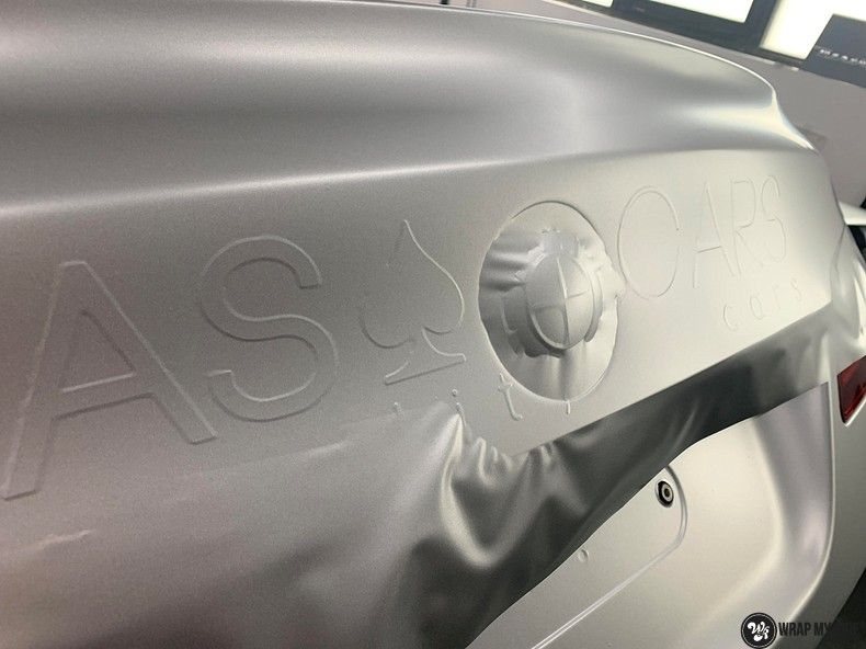 BMW M5 satin white aluminium, Carwrapping door Wrapmyride.nu Foto-nr:13126, ©2021