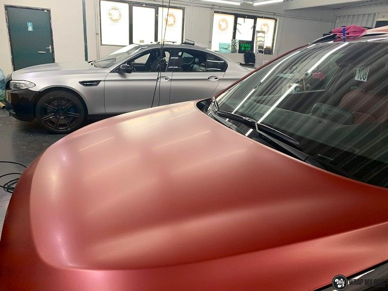 Hyundai Tucson satin vampire red, Carwrapping door Wrapmyride.nu Foto-nr:13181, ©2021
