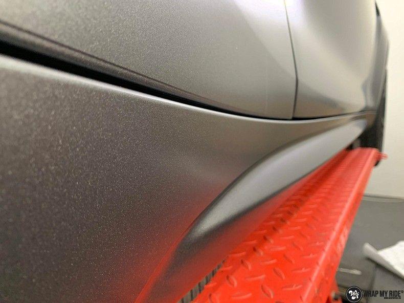 BMW M2 Satin dark grey, Carwrapping door Wrapmyride.nu Foto-nr:13091, ©2021