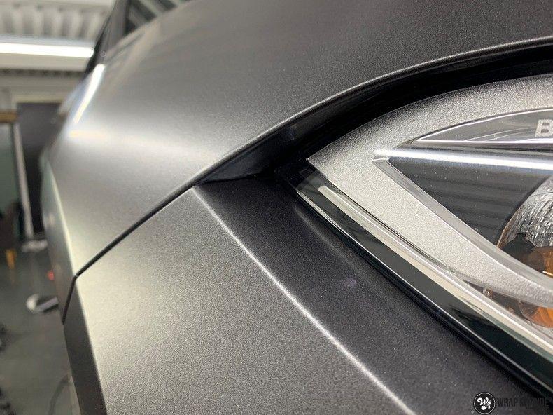 BMW M2 Satin dark grey, Carwrapping door Wrapmyride.nu Foto-nr:13099, ©2021