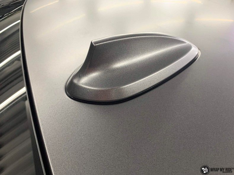BMW M2 Satin dark grey, Carwrapping door Wrapmyride.nu Foto-nr:13113, ©2021