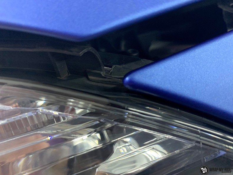 Mercedes A-klasse matte slate bleu, Carwrapping door Wrapmyride.nu Foto-nr:13317, ©2020
