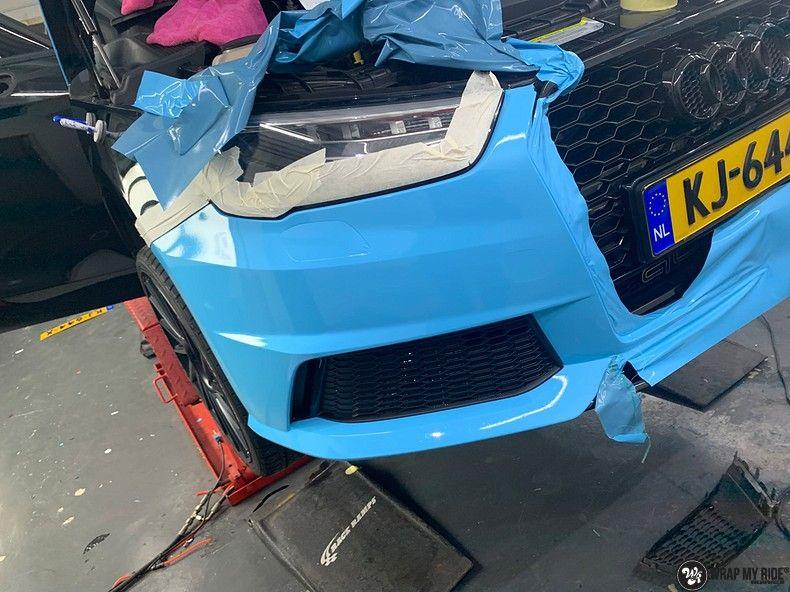audi A1 custom livery, Carwrapping door Wrapmyride.nu Foto-nr:12998, ©2020