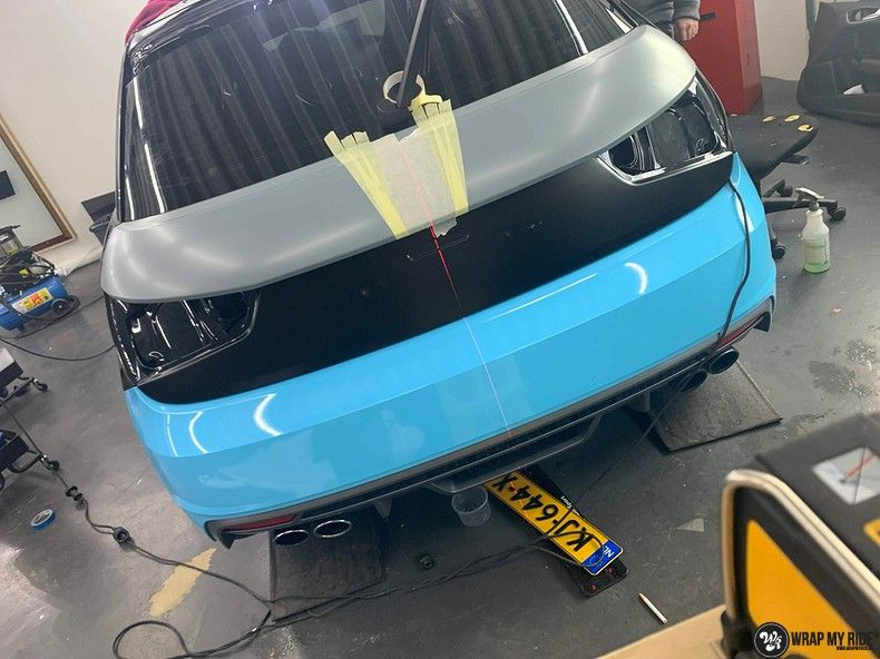audi A1 custom livery, Carwrapping door Wrapmyride.nu Foto-nr:13000, ©2020
