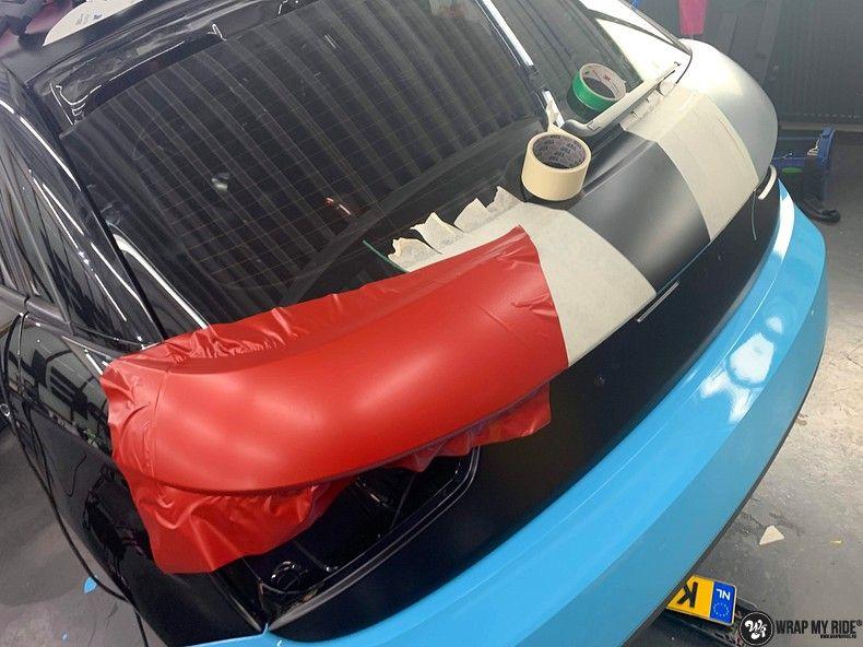 audi A1 custom livery, Carwrapping door Wrapmyride.nu Foto-nr:13002, ©2020