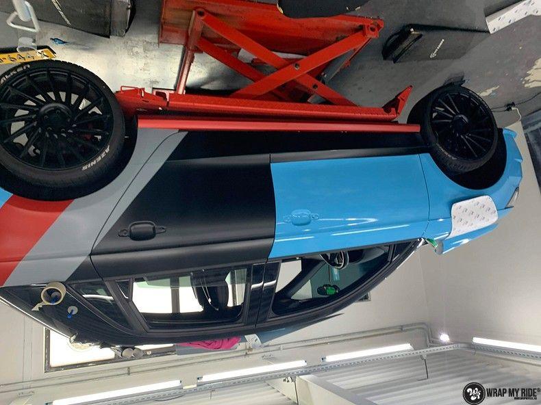 audi A1 custom livery, Carwrapping door Wrapmyride.nu Foto-nr:13006, ©2020
