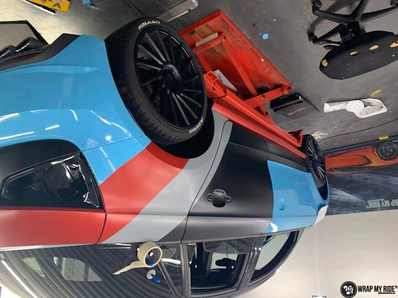 audi A1 custom livery, Carwrapping door Wrapmyride.nu Foto-nr:13007, ©2020