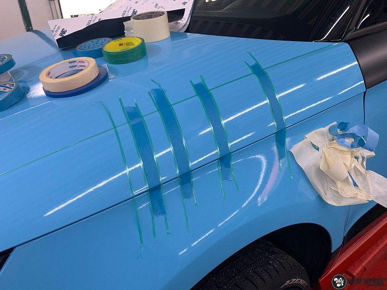 audi A1 custom livery, Carwrapping door Wrapmyride.nu Foto-nr:13014, ©2020