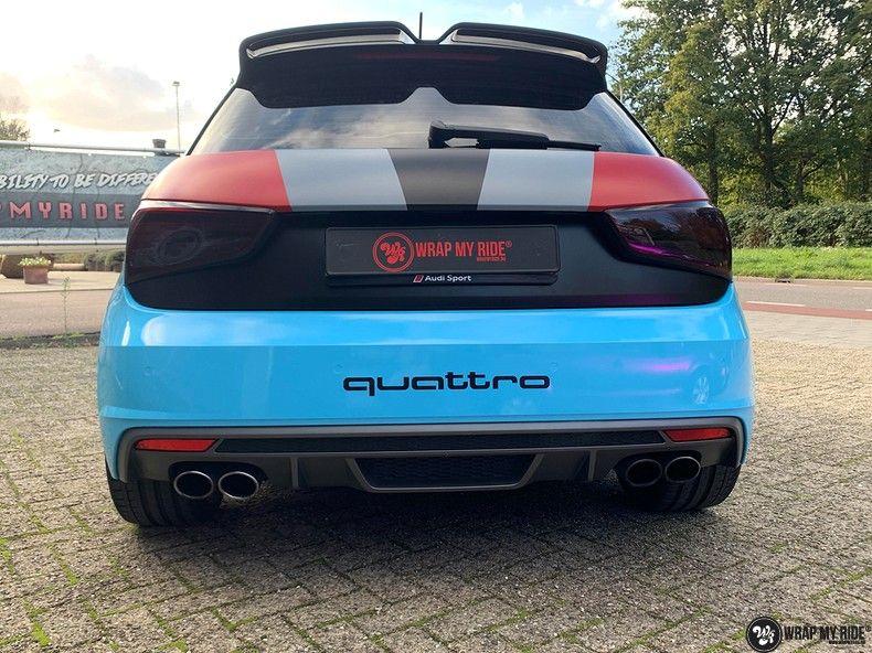 audi A1 custom livery, Carwrapping door Wrapmyride.nu Foto-nr:13040, ©2020