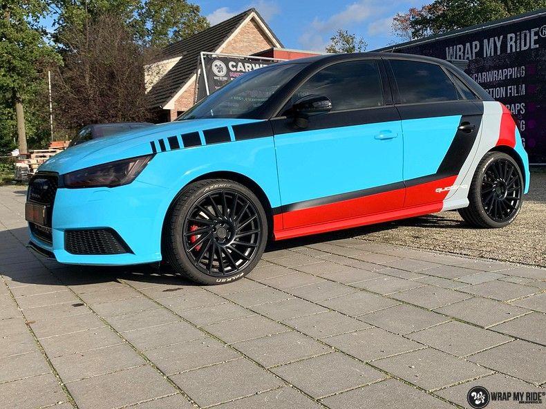 audi A1 custom livery, Carwrapping door Wrapmyride.nu Foto-nr:13059, ©2020