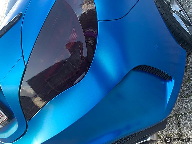 Mercedes CLA Matte Bleu Chrome, Carwrapping door Wrapmyride.nu Foto-nr:13826, ©2021
