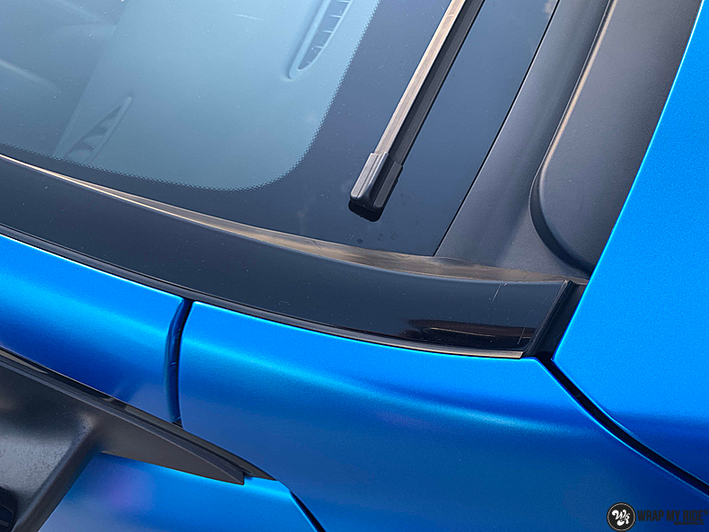 Mercedes CLA Matte Bleu Chrome, Carwrapping door Wrapmyride.nu Foto-nr:13827, ©2021