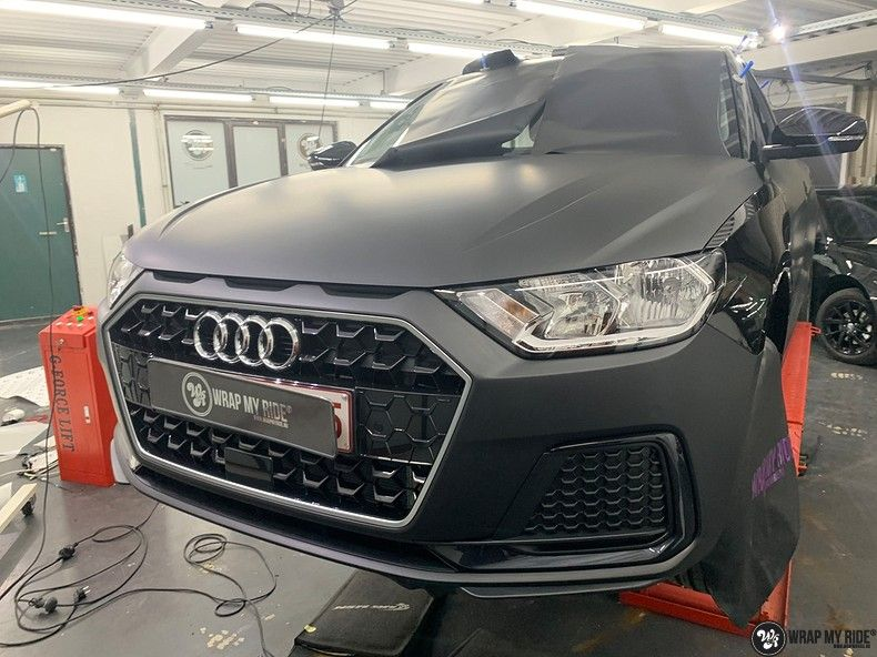 Audi A1 2019 Deltaworx, Carwrapping door Wrapmyride.nu Foto-nr:12938, ©2020