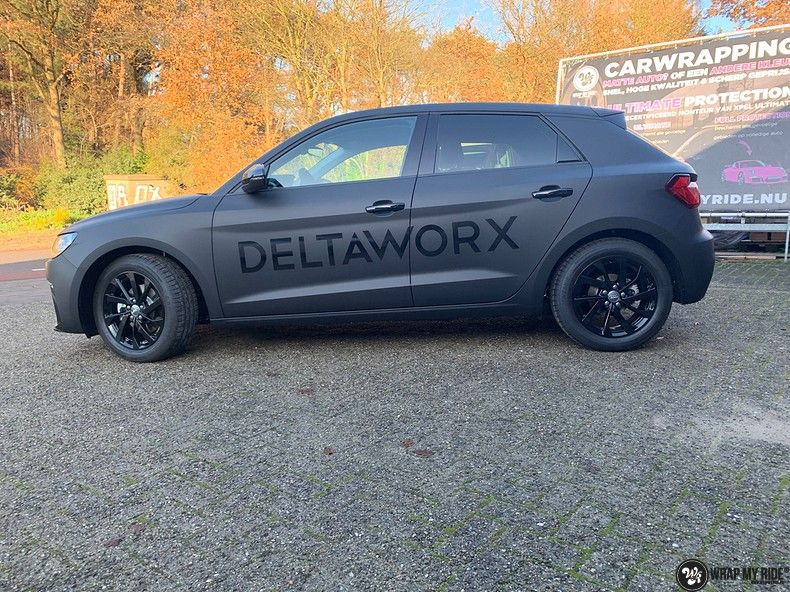 Audi A1 2019 Deltaworx, Carwrapping door Wrapmyride.nu Foto-nr:12948, ©2020