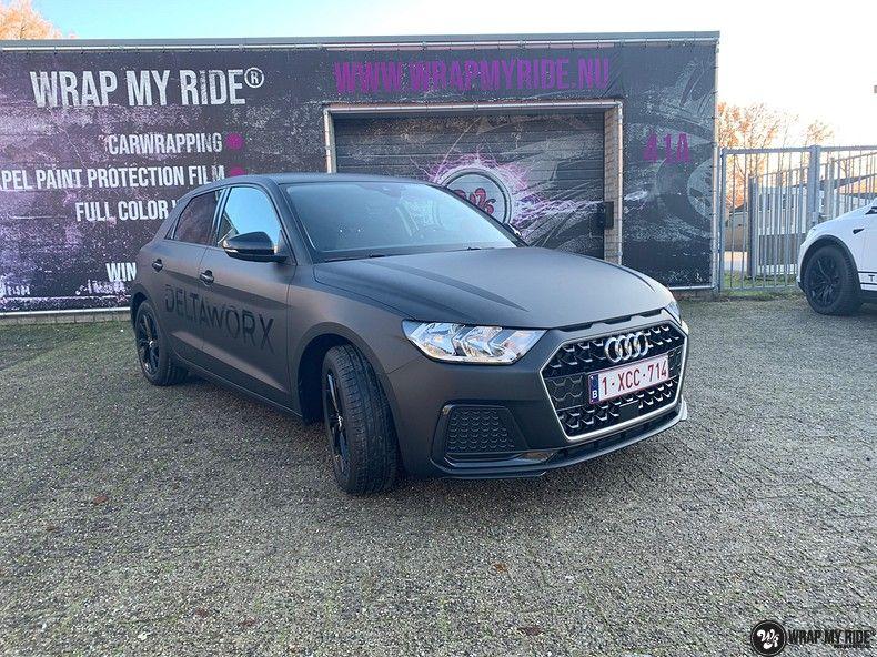 Audi A1 2019 Deltaworx, Carwrapping door Wrapmyride.nu Foto-nr:12951, ©2020