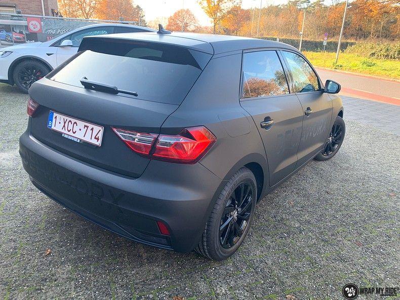 Audi A1 2019 Deltaworx, Carwrapping door Wrapmyride.nu Foto-nr:12959, ©2020